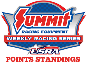 Summit Racing USRA Weekly Racing Series National Points Standings